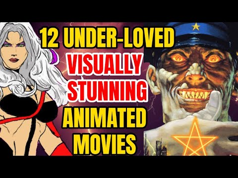 12 Visually Stunning Animated Movies That Are Exceptionally Good!