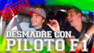 DESMADRE CON PILOTO F1! (Carlos Sainz - Toro Rosso)  | JUCA