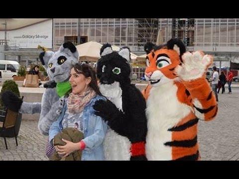 Furry SuitWalk Dresden