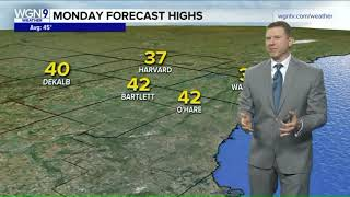 Year`s warmest weather likely this week, with temps. in the 60s