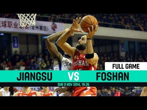 CBA 2014 2015 - Jiangsu VS Foshan - Round 4 - Sunday 9 November 2014