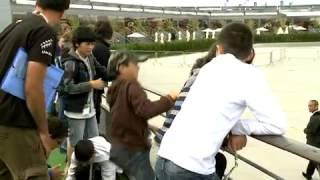 Rocketry Challenge : des enfants lancent leurs fusées au Bourget