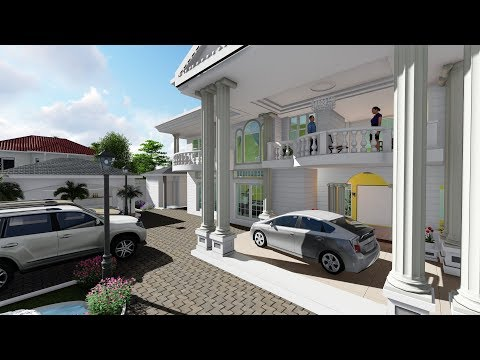 Architectural 3D Animation for House Plans - Best Architect in Uganda