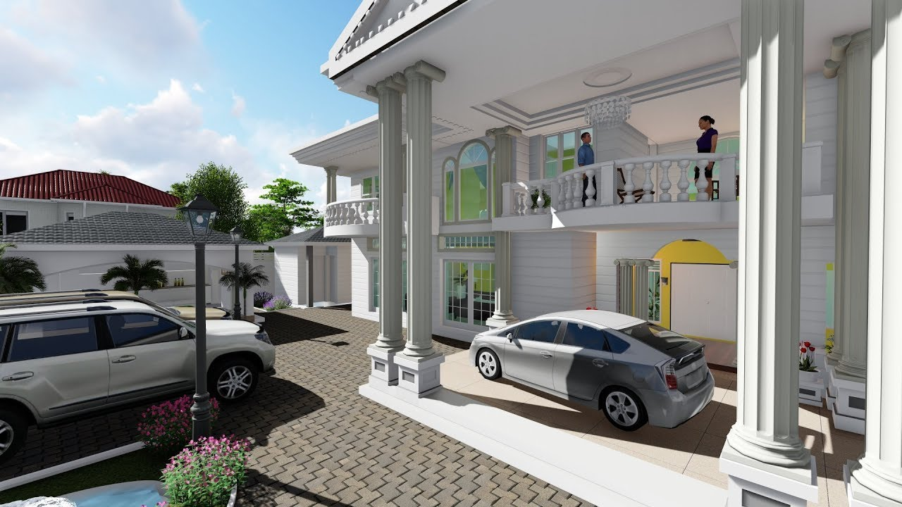 Architectural 3d Animation For House Plans Best Architect In Uganda