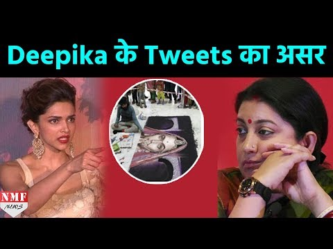 Deepika के Tweet ने किया कमाल, Padmavati की Rangoli खराब करने वालों को मिली सजा