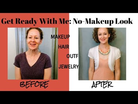Get Ready With Me/No Makeup LOOK/Makeup, Hair, Outfit, Jewelry