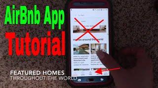 Gambar cover ✅  AirBnb App Walk Through and Tutorial 🔴