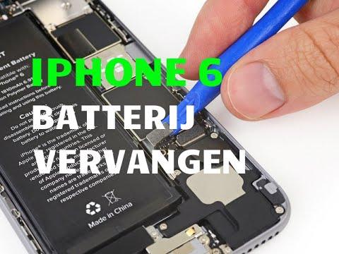 Apple accu vervangen iphone 6s