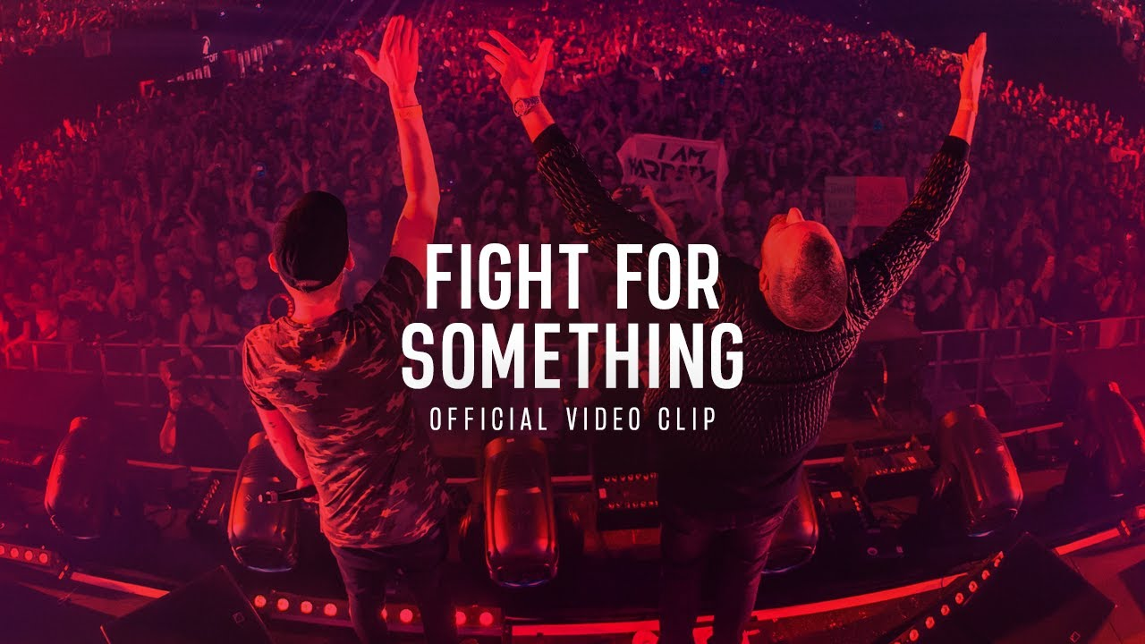 Download Brennan Heart & Coone ft. Max P  - Fight For Something (Official Videoclip)