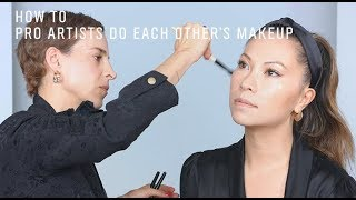 Pro Makeup Artists Do Each Other's Makeup | Romy Soleimani and Nam Vo | Bobbi Brown Cosmetics