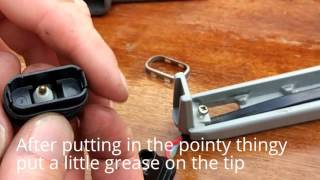 How to fix the tilt & trim switch on a Yamaha 703 remote control