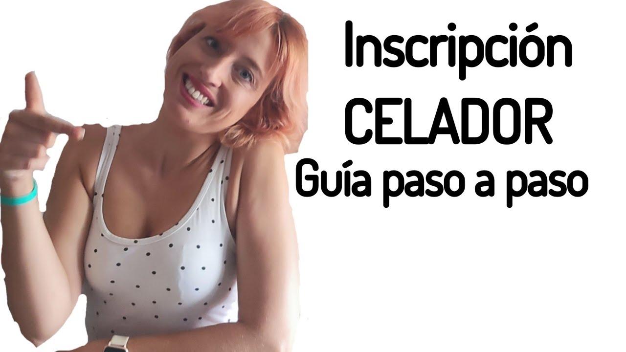 Inscripción a celador de la Comunidad Valenciana Paso a paso