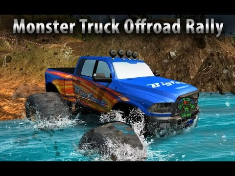 Monster Truck Offroad Rally 3D - HD Android Gameplay - Off-road games - Full HD Video (1080p)