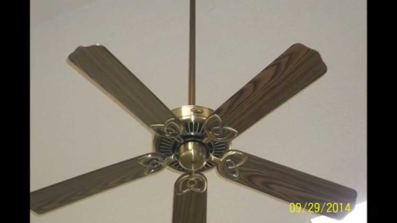 Update Video On Hampton Bay Huntington Iii Ceiling Fans With Original Audio Youtube