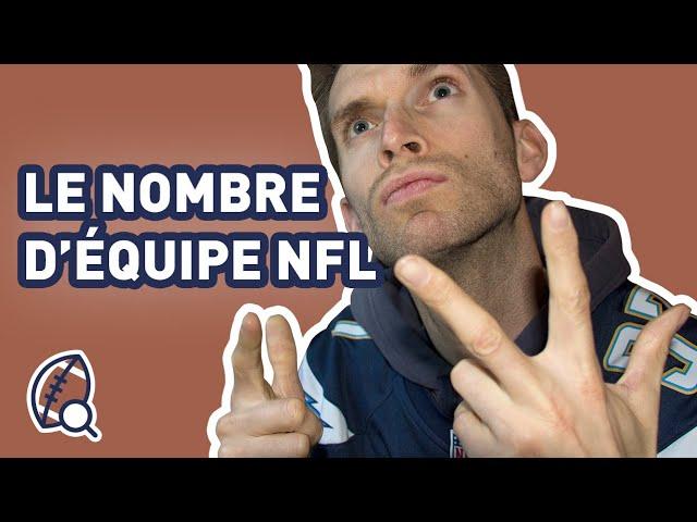 La minute football américain #24 : Combien d'équipes NFL y a-t-il ?