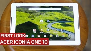 Acer Iconia one 10 review