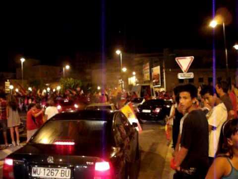 final del mundial 2010. puerto de mazarron