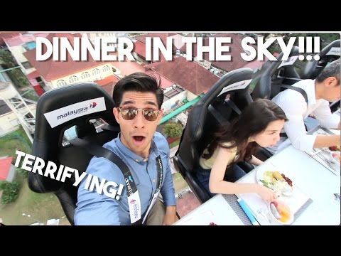 DINNER IN THE SKY! (Crazy Attractions of MALAYSIA)