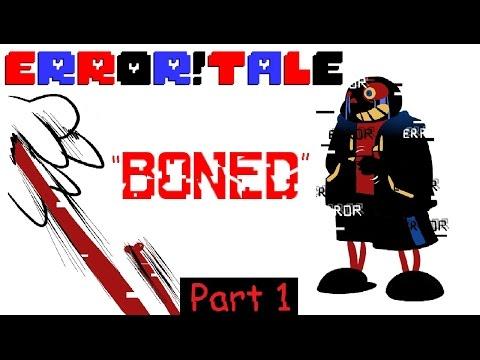 BONED | Ask Error!Sans | Part 1(Undertale Comic Dub)
