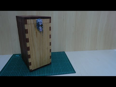 Making Wooden Box Money Bank | Finger Joint
