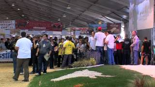 trophée des Massifs 2012 - Sommet Elevage - pointage bovin par les jeunes