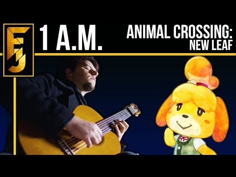 """Animal Crossing: New Leaf - """"1 A.M."""" Acoustic Guitar Cover 