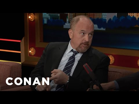 Louis C.K. Is All In For Hillary  - CONAN on TBS