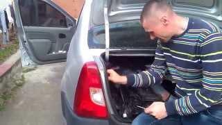 Logan, qisqa aylanish va to'xtatish, ta'mirlash Dacia.