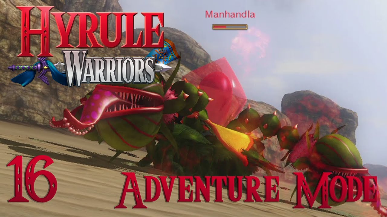 How to defeat gohma in hyrule warriors - Manhandla Is Dumb Hyrule Warriors Adventure Mode Part 16