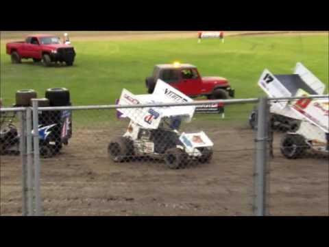 Sprintcars @ Ocean Speedway 8 20 16 part 1