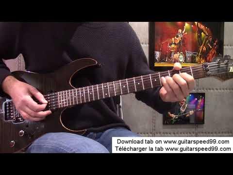 Cours de guitare - Allumer le feu (Johnny Hallyday)