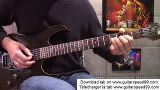 Cours De Guitare Allumer Le Feu Johnny Hallyday
