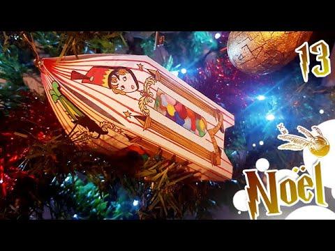 Comment Jour13: DIY HARRY POTTER Boîte de dragées de Bertie Crochue | Sapin de Noël ?