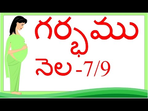 Thumbnail: Pregnancy | Telugu | Month by Month | Month 7 | Week 25 to week 28 | గర్భం నెల 7