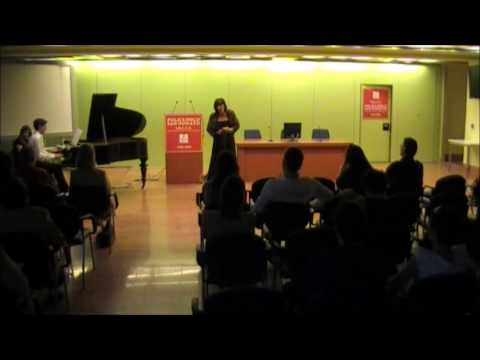 G. Verdi – Addio del passato – Emilia Bertoncello