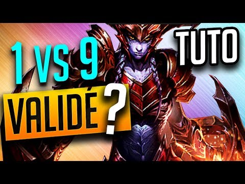 VALIDEZ VOUS CE 1v9 ? Tuto Tryhard Counter Jungle