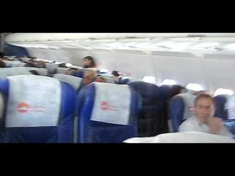 Armavia A319 Flight-Domodedovo, Russia To Yerevan, Armenia