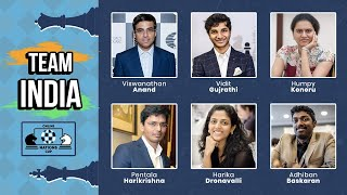 LIVE STREAMING World Online Chess Cup INDIA vs USA