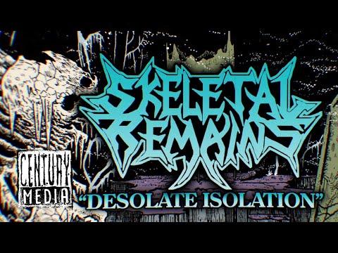 SKELETAL REMAINS - Desolate Isolation [Demo Remaster 2020] (LYRIC VIDEO)