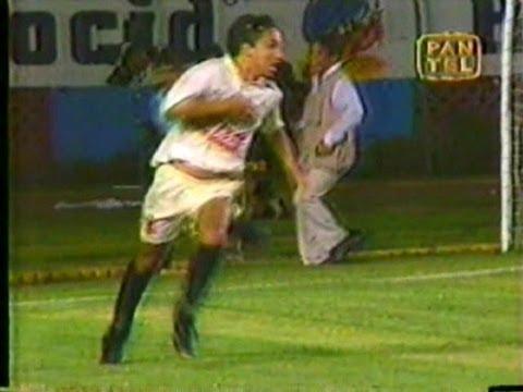 Gol de Roberto Martinez Clásico Universitario vs al [1-0] Clasificación Libertadores 1995