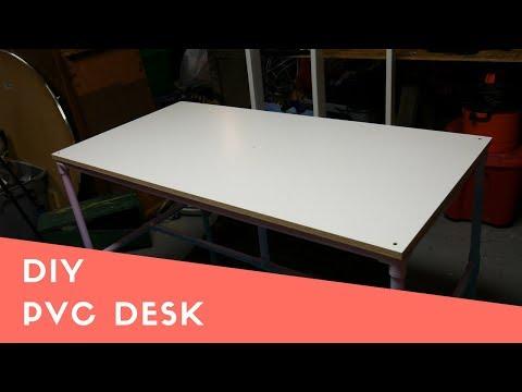 DIY| Building A PVC Desk