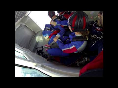 Katherine Knowles's Tandem skydive! thumbnail