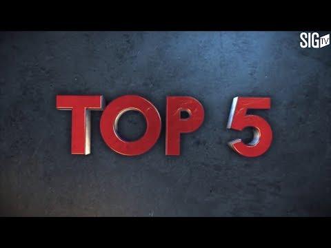 TOP 5 de la SIG Strasbourg face à Chalon (épisode 2 finale playoffs17)