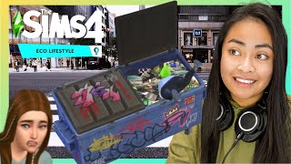 The Sims 4 Eco Lifestyle is now a Dumpster Diving Simulator | Valeria #03