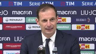 Download Video 20190112 Allegri post Bologna - Juventus Coppa Italia MP3 3GP MP4
