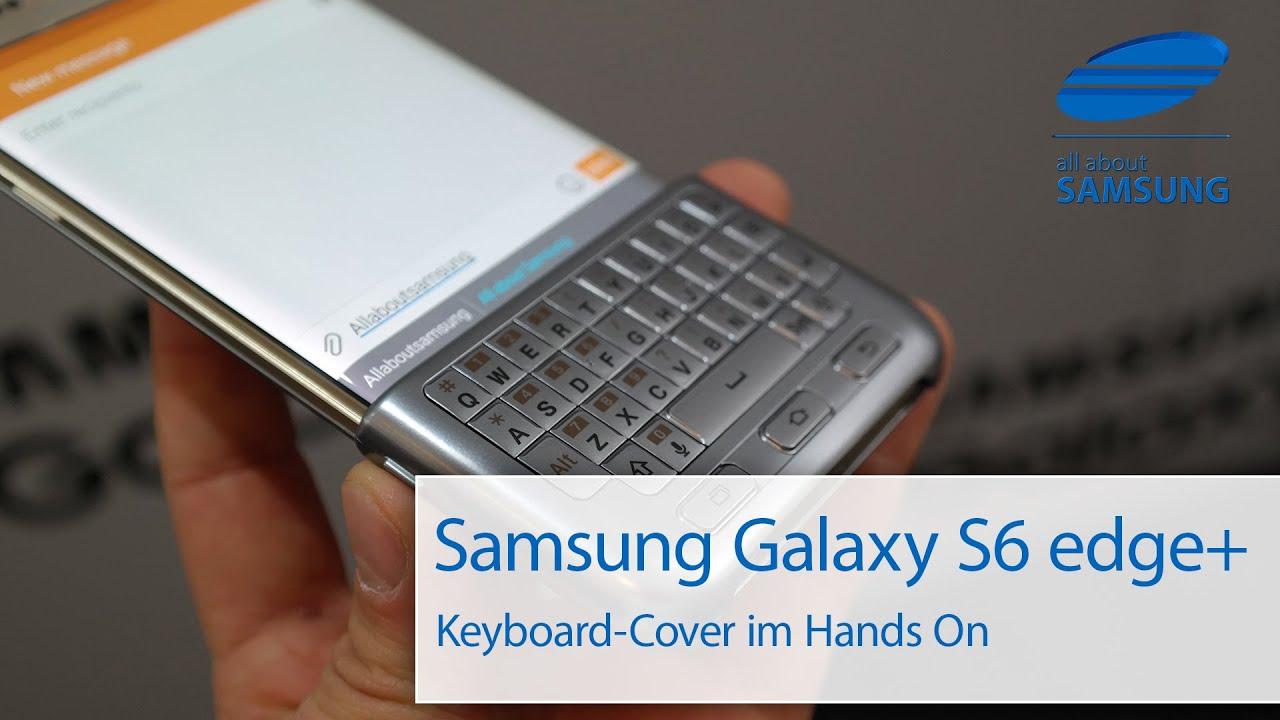 samsung galaxy s6 edge plus keyboard cover deutsch hd. Black Bedroom Furniture Sets. Home Design Ideas
