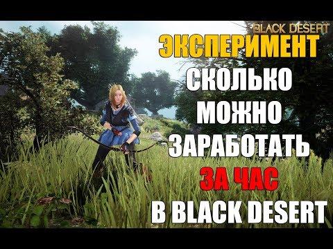 СКОЛЬКО МОЖНО ЗАРАБОТАТЬ ЗА ЧАС ИГРЫ В BLACK DESERT