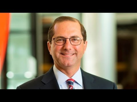 Trump picks Alex Azar as new HHS secretary