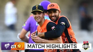 All-round Richardson the star as Scorchers down Canes   KFC BBL 10