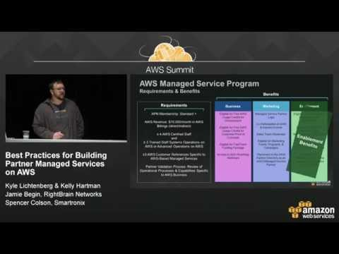 Best Practices for Building Partner Managed Services on AWS